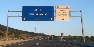 Madrid Sign