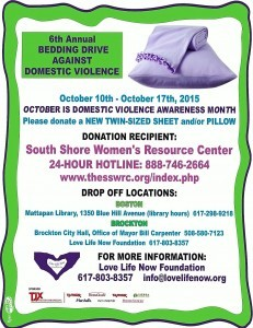 BEDDING DRIVE FLYER 2015