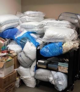 Bedding Drive Proceeds at Mattapan Library